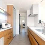 見通しが良く家事がしやすい造りのキッチン