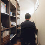 ご主人の書斎は仕事や読書に集中できる環境