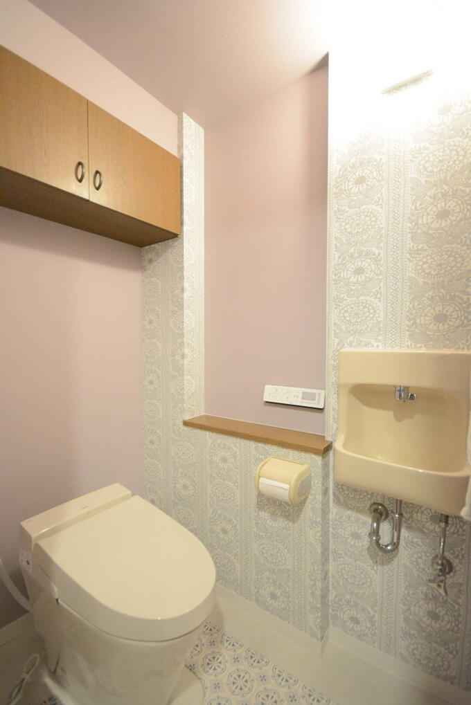 タンクレストイレでスッキリリフォーム
