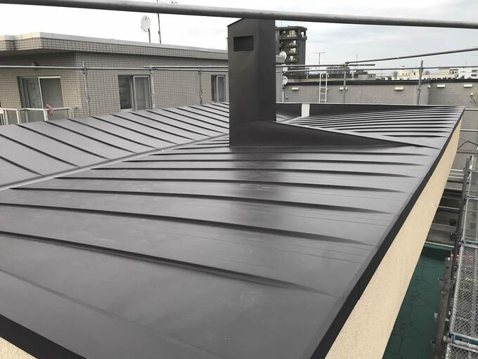 屋根の貼替
